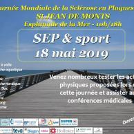 """Visuel pour Rencontre """"SEP et Sport"""" à St Jean de Monts"""